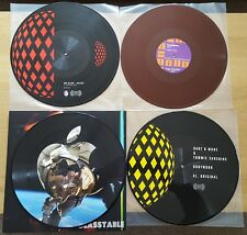 """HOUSE, DEEP, ELECTRO- PICTURE DISCS/COLOURED 12"""" VINYL JOB LOT RECORD COLLECTION"""