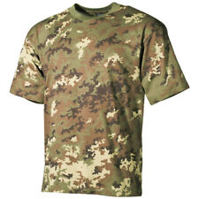 MFH Classic Army Style T-shirt Italian VEGETATO Camo Airsoft Hunting Cadet XL