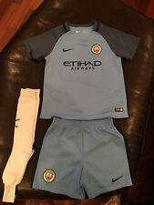 Nike Manchester City 2016-17 Home Kit, Size Kids Large (6-7 Years)