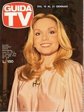 rivista GUIDA TV ANNO 1978 NUMERO 2 MARIA GIOVANNA ELMI