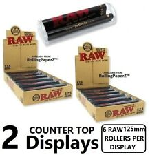 Raw Phatty Rollers 125mm Xtra Phat Size Cigar Wrap Rolling Machines