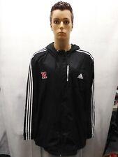 Rutgers University Adidas 4XL Hooded Full Zip Jacket NCAA