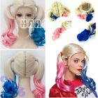 Chic Cosplay Batman Suicide Squad Harley Quinn Wig Pink & Blue Gradient Hair