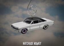 '67 Custom Chevy Chevelle Malibu Christmas Ornament 1/64 Muscle Car Adorno