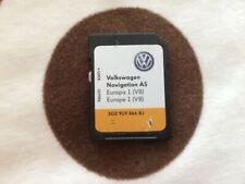 VW SAT NAV NAVIGATION AS SD CARD V8 EUROPA 1 MAPS 3G0 919 866 BJ