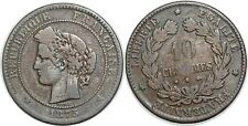 10 CENTIMES CERES 1875 A   F.135