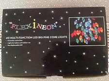 NEW FLEXINEON - 40 MULTI-FUNCTION LED BIG PINE CONE LIGHTS