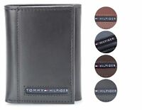 Tommy Hilfiger Men's Premium Leather Credit Card ID Wallet Trifold 31TL11X033