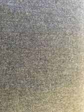 Gris à Chevrons 100% Laine Hiver Poids Tissu au mètre
