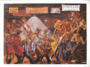 Ernie Barnes Sugar Shack Open Edition