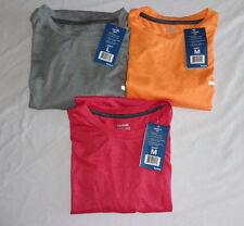Men's Reebok Exercise Short Sleeve Performance Shirt Easy Care Tagless Nwt