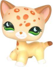 HASBRO Littlest Pet Shop LPS Gatto Kitty capelli corti Carino Giocattolo Dots Leopard Tan #852
