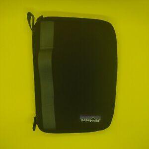 Patagonia Padded Mini IPAD Book Case Black Canvas 11453