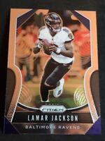 2019 Panini Prizm Football Lamar Jackson Optic-Chrome #71 MVP BALTIMORE RAVENS🔥