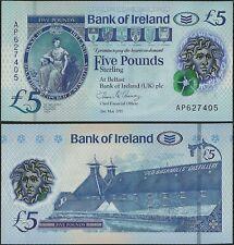 Northern Ireland B136 5 Pounds Bank of Ireland UNC 2020 Polymer @ EBS