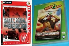 mockba to berlin & war commander rangers lead the way   new&sealed