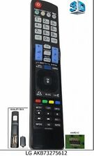 Remote Control AKB73275612 Replacement for LCD LG 42LW573S 47LW575S 3D button