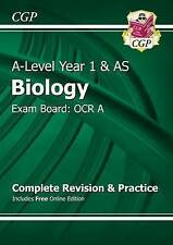 New A-Level Biology: OCR A Year 1 & AS Complete Revision & Practice with Online