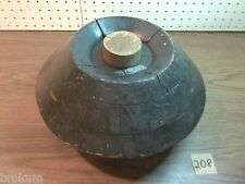 "Unusual Wood Foundry Industrial Pattern ROUND Mold 13"" X 7-1/2"" DEEP  (208)"