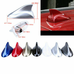 Shark Fin Universal Antenna Roof Radio FM/AM Signal Cover Aerial For All Car