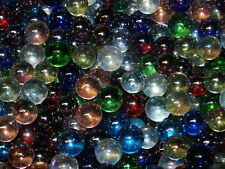 L@@K Two Pounds Mix of Luster Marbles Made In USA Lot #40