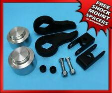 """1-3"""" Front + 1.5"""" Rear Spacers For 00-06 Tahoe 1500 Full Lift Kit +Shock Ext 4WD"""