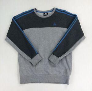 Adidas Sweatshirt Jumper Grey Mens Small