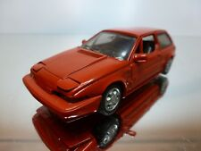 AHC MODELS 483 VOLVO 480 TURBO 1988 - RED 1:43 - VERY GOOD CONDITION 25/4