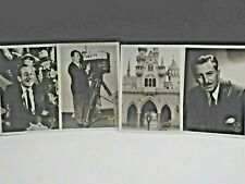 WALT DISNEY PICTURE POSTCARDS 2001 CONVENTION LOT OF 8 NEW c