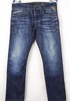 Replay Hommes Jeans Jambe Droite Taille W32 L32 BCZ216