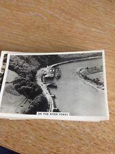 Cigarette Card Senior Service Britain From The Air Photo Card River Fowey Gwr