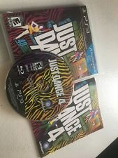 Playstation 3 PS3 Just Dance 4, Complete CIB