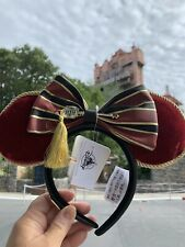 New Listing*New Disney Parks Hollywood Tower Hotel Of Terror Minnie Ears Headband Loungefly