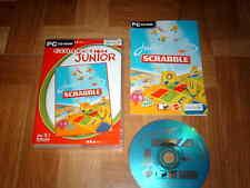 JUNIOR SCRABBLE...dès 5 ans...jeu complet...sur PC