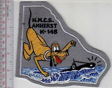 Canada Royal Canadian Navy RCN WWII HMCS Amherst (K-148) Corvette Flower Class g