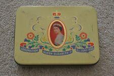 Vintage Queen Elizabeth 11 II 2nd Coronation Tin, Cadbury Bros