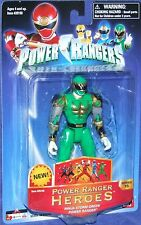 "Power Rangers Ninja Storm Green Samurai Ranger 5"" heroes series 15 New 2006"