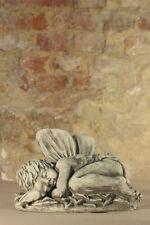 "Figur Skulptur Elfenkind ""Dundin"" Engel Steinguss Steinfigur Vidroflor"