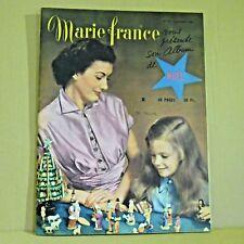 Marie France Magazine N° 210 - 6 Décembre 1948 - Ancien Magazine Français
