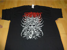 Suffocation Shirt Death Metal Size M-Medium Fruit Devourment
