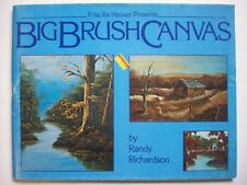 Big Brush Canvas Painting decorative painting patterns instruction Richardson