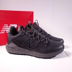 Size 11 Men's New Balance Fresh Foam Crag Trail Sneakers MTCRGLB1 Black
