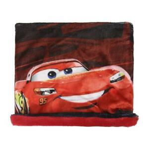 Disney Cars Lightning McQueen Loop Schal mit Fleece Schlauchschal Snood -  rot