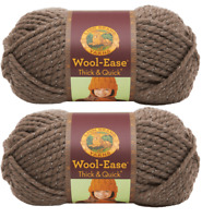 (Pack of 2) Lion 640-304 Wool-Ease Thick & Quick Yarn  - 97 Meters - Gemstone