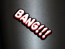 1 x adhesivo Bang!!! Bang Boom Pang hechizo cómic sticker tuning decal Fun gag