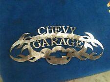 Plasma cut Chevy Garage Metal Wall Art Home Decor