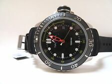 NAUTICA MEN'S HUGE STEM, RUBBER BAND DATED WATCH, NEW IN BOX, MODEL NAD18519G