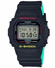 Casio G-Shock DW-5600CMB-1 Black on Green Men's 200m Digital Sports Watch