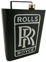 Vintage Style Petrol Fuel Jerry Can - Rolls Royce Cars - Automobilia / Garage