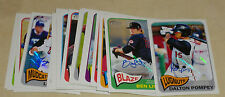 2014 TOPPS HERITAGE MINORS LOT OF 23 AUTOGRAPH CARDS ALL DIFFERENT  INC. POMPEY